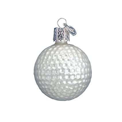 Old World Christmas Ornaments: Golf Ball Glass Blown Ornaments for Christmas  Tree - Amazon.com: Old World Christmas Ornaments: Golf Ball Glass Blown