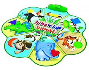 Learning Resources Jump 'N' Jam Jungle Talking Floor Mat
