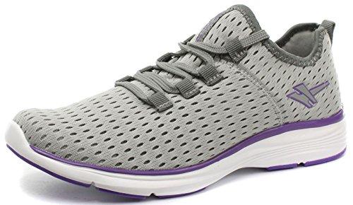 Gola Active Sondrio Grey Womens Fitness Sneakers, Size 9