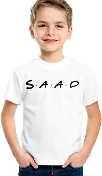 Sqaqad T-Shirt for Boys, Size