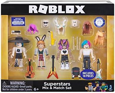 Roblox Celebrity Superstars Mix & Match Set: Amazon com
