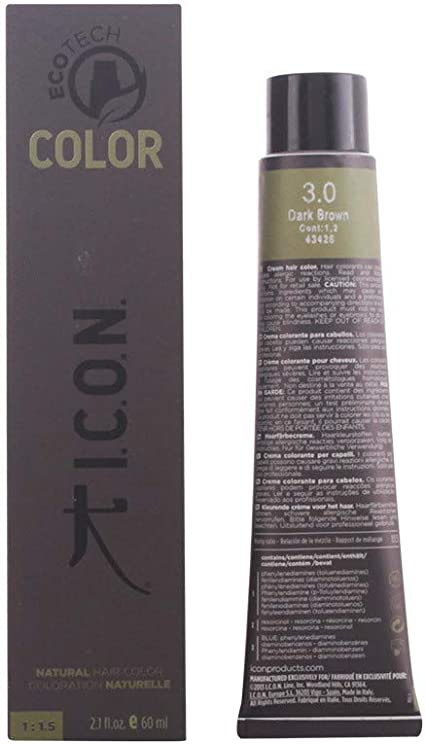 Icon Ecotech Natural Color 8.0 Light Blonde Tinte - 60 ml