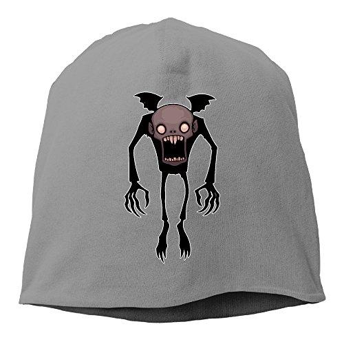 Chibi Nosferatu Comic Men Women Daily Beanie Hat, Skull Cap ( 6 Colors ) DeepHeather