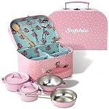 "Lillian Vernon Personalized Kids Cooking Box Set - 9.5"" x 6.25"" x 4.75"""