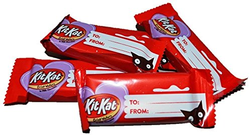 Kit Kat Valentines Fun SIze Bars (48 - Of Valentine Is Day Date What