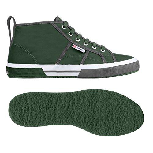 Alto nylm A Uomo Sneaker Green Collo Superga New 2754 Military nqC5Y1S