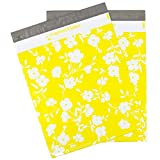 100 12.5x15.5 Yellow Floral