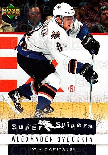 (CI) Alexander Ovechkin Hockey Card 2007-08 Upper Deck Super Snipers 12 Alexander (08 Upper Deck Ice)