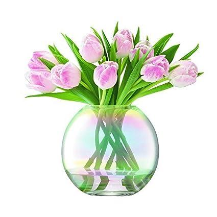 Amazon Lsa International Pearl Spherical Vase 16cm By Lsa