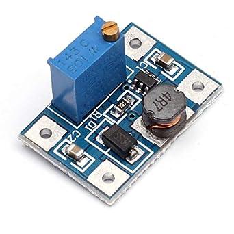 5Pcs SX1308 DC-DC Voltage Step Up Adjustable Boost Converter Module 2A Power