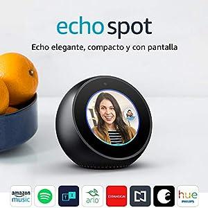 Echo Spot - Negro