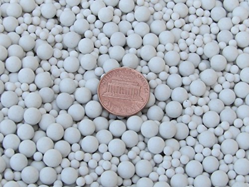 Algrium Engraving Ceramic Porcelain Tumbling Media Mixed 2 Lbs. 3 mm & 6 mm Polishing Sphere Non-Abrasive price tips cheap