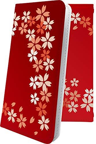 ハウジング歌コンベンションiPhoneXR/iPhoneXS Max ケース 手帳型 和 和風 和柄 日本 japan 花 花柄 フラワー アイフォン アイフォーン アイホン テンアール テンエス マックス 手帳型ケース サクラ 桜 iphone xr xs xsmax 木 ウッド 木目 wood