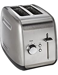 KitchenAid KMT2115CU  Toaster with Manual High Lift Lever, Contour Silver