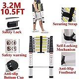 Multi-Purpose Folding A-Shape Ladder - Aluminum