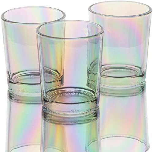 Richland Iridescent Votive Candle Holder Glass Set of 72