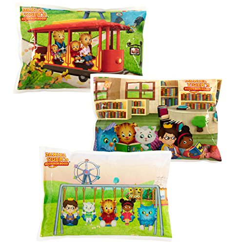 - Daniel Tiger's Neighborhood - Reusable Ice Pack for Lunch Boxes (3 Pack) - Non Toxic - (6