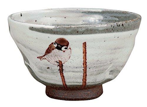 Kutani Yaki Nostalgia Pottery 5inch Matcha Bowl by Watou.asia