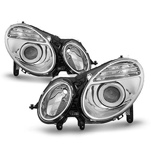 ACANII - For 2003-2006 Mercedes Benz W211 E-Class Headlights Headlamps [Xenon HID Model Only] Pair Driver + Passenger ()