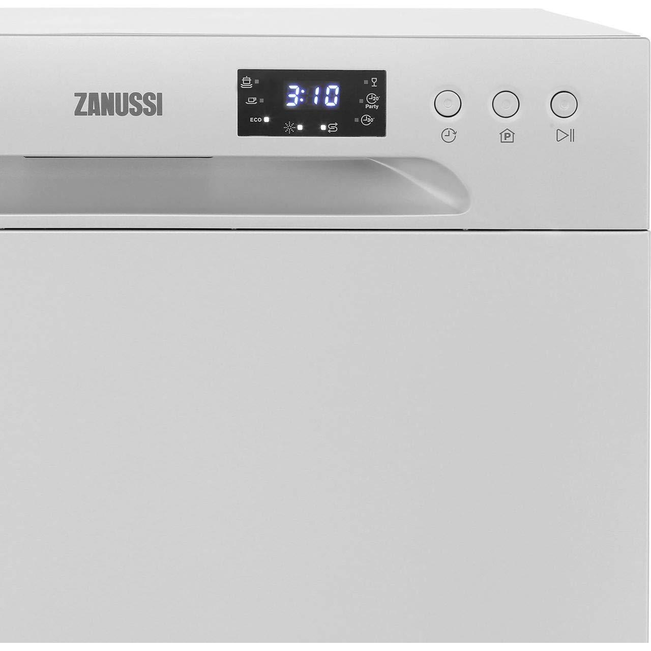Lavavajillas de mesa Zanussi ZDM17301SA, independiente, color ...