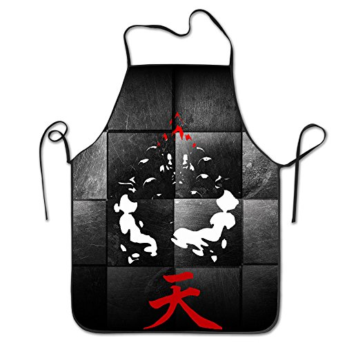 Street Fighter Akuma Costume (Akuma FantasticChef Personalized Kitchen Cooking Apron For Men)