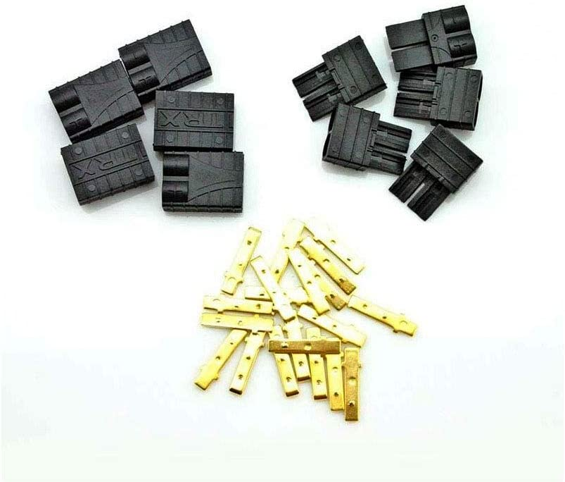 5 Pairs WST Traxxas TRX Plug Connectors for RC LiPo NiMH Battery Male and Female
