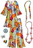 Lava Love 2PC Plus Size Hippie Costume Basic Kit 3xT