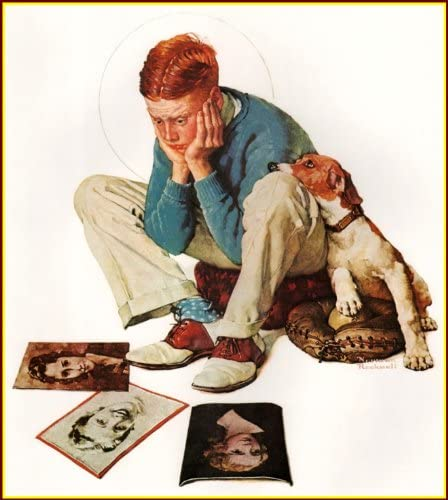 Amazon Com Books Arts Museum Norman Rockwell Starstruck