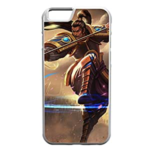 XinZhao-006 League of Legends LoL case cover for Apple iPhone 6 Plus - Rubber White