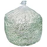 Brighton Professional High Density Trash Bags, Clear, 10 Gallon, 1,000 Bags/Box