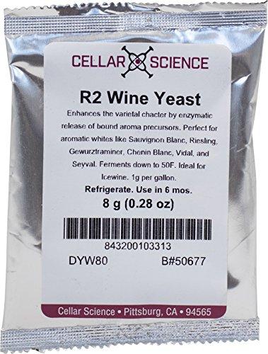 Dry Wine Yeast - R-2 (8 g)