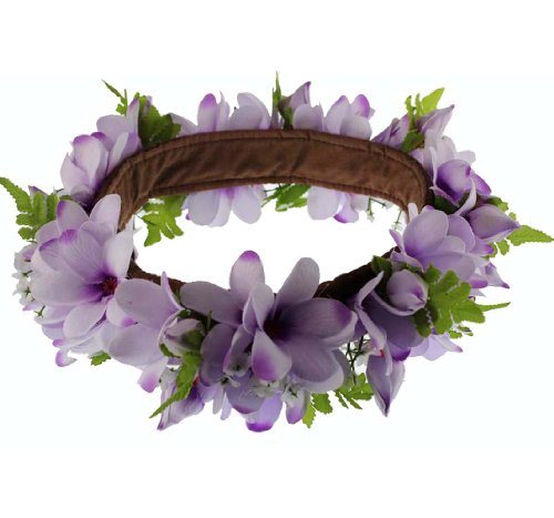 The Purple Hawaii Plumeria Headband