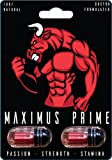 Maximus Prime (3 x Packs) Male Enhancement Pill - 10X Strength - Yohimbe, Maca, Tribulus & Ginseng - Energy & Performance Complex for Men&Women,2000mg Epimedium Powder Pills Supplement,Vegan Capsules
