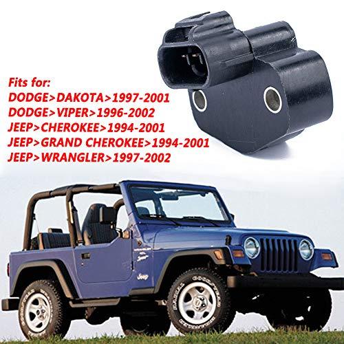 GoDeal A1970 Throttle Position Sensor Suitable for Dodge Dakota Jeep Grand Cherokee Wrangler OE:4874371AC 4874371 With kit (94 Jeep Grand Cherokee Crank Position Sensor Location)