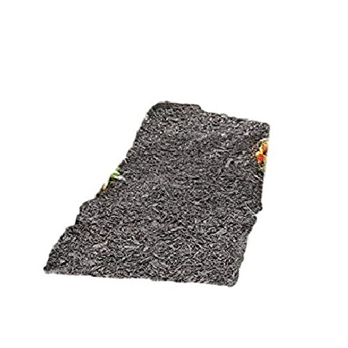 Rubber Mulch Pathway Permanent Outdoor Landscape Edging Garden Black Decorative & eBook by AllTim3Shopping
