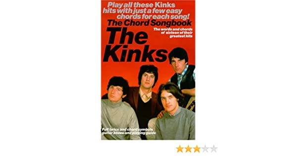 Kinks The Chord Songbook Kinks 9780711981751 Amazon Books