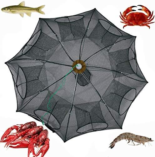 - Folding Fishing Net,Quaanti 2018 Hot Foldable Fishing Bait Net Trap Cast Dip Cage Crab Fish Minnow Crawdad Shrimp Folding Fishing Shrimp Net (B)