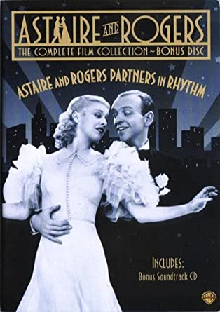 Amazon Com Astaire And Rogers Partners In Ryhthm Includes 1 Dvd Plus Cd Of Songs From The Original Movie Soundtracks Fred Astaire Ginger Rogers Irving Berlin Jerome Kern George Gershwin Hermes Pan