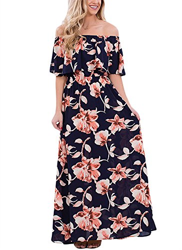 vigvog-womens-boho-floral-print-off-shoulder-maxi-casual-dress-with-short-sleeves