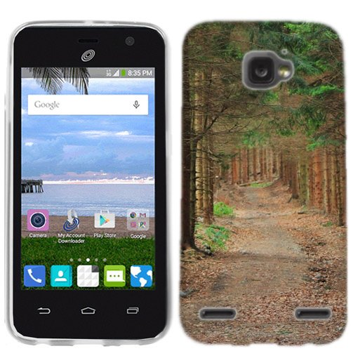 for ZTE Sonata 2 Forrest Path Phone Cover Case (Sonata Path)