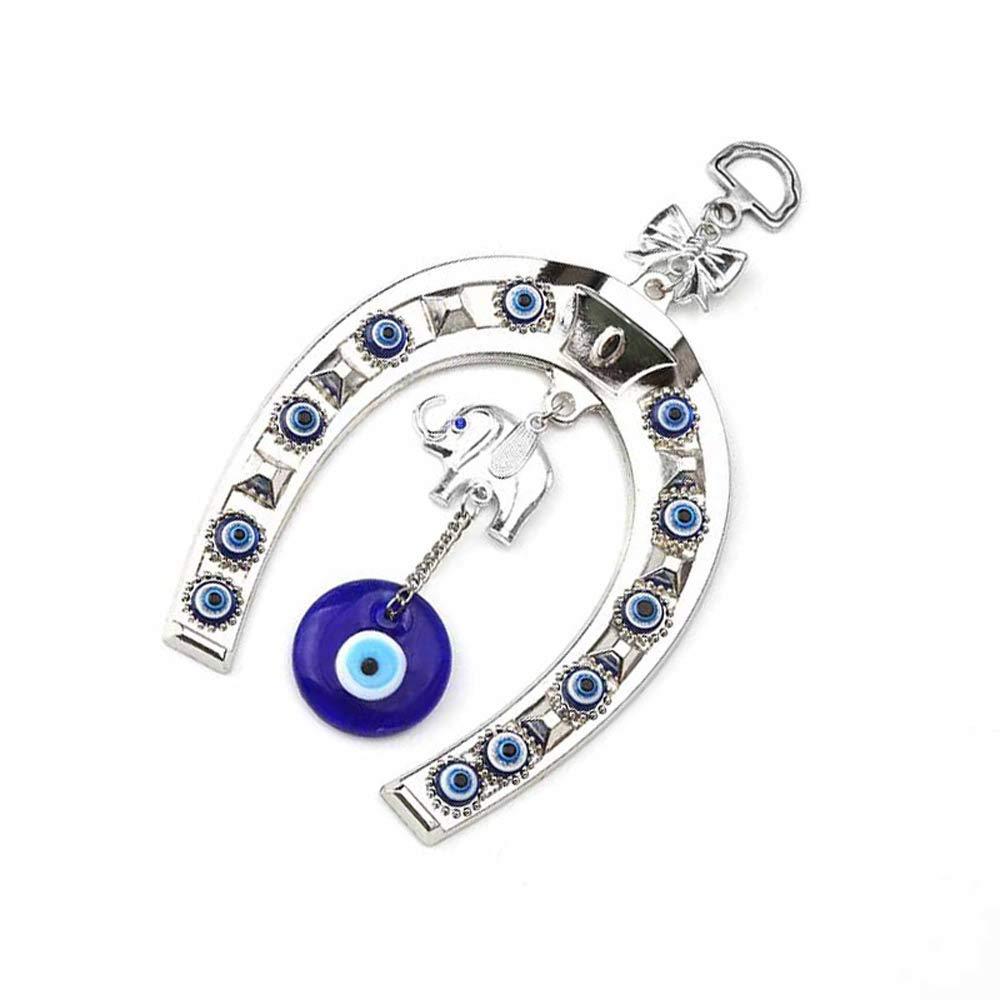 Amazon.com: kiwilife Colgante de ojo malvado con amuleto de ...