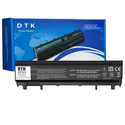 DTK New Laptop Battery Replacement for DELL E5440 E5540 P/N: N5YH9 VV0NF VVONF VJXMC 0M7T5F 0K8HC 1N9C0 7W6K0 F49WX NVWGM CXF66 WGCW6 11.1V 4400MAH