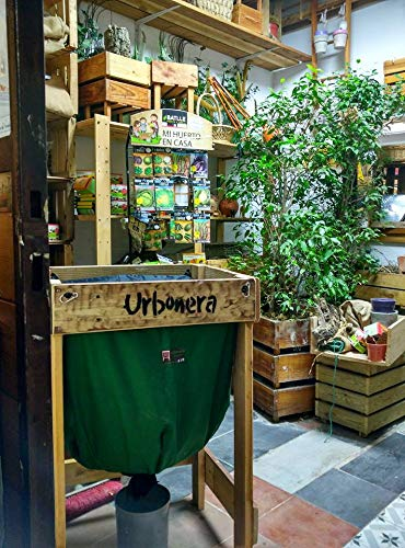 Urbonera: la abonera urbana Vermicompostador 125 l - Compostador para lombrices (sin Stand de Madera): Amazon.es: Jardín