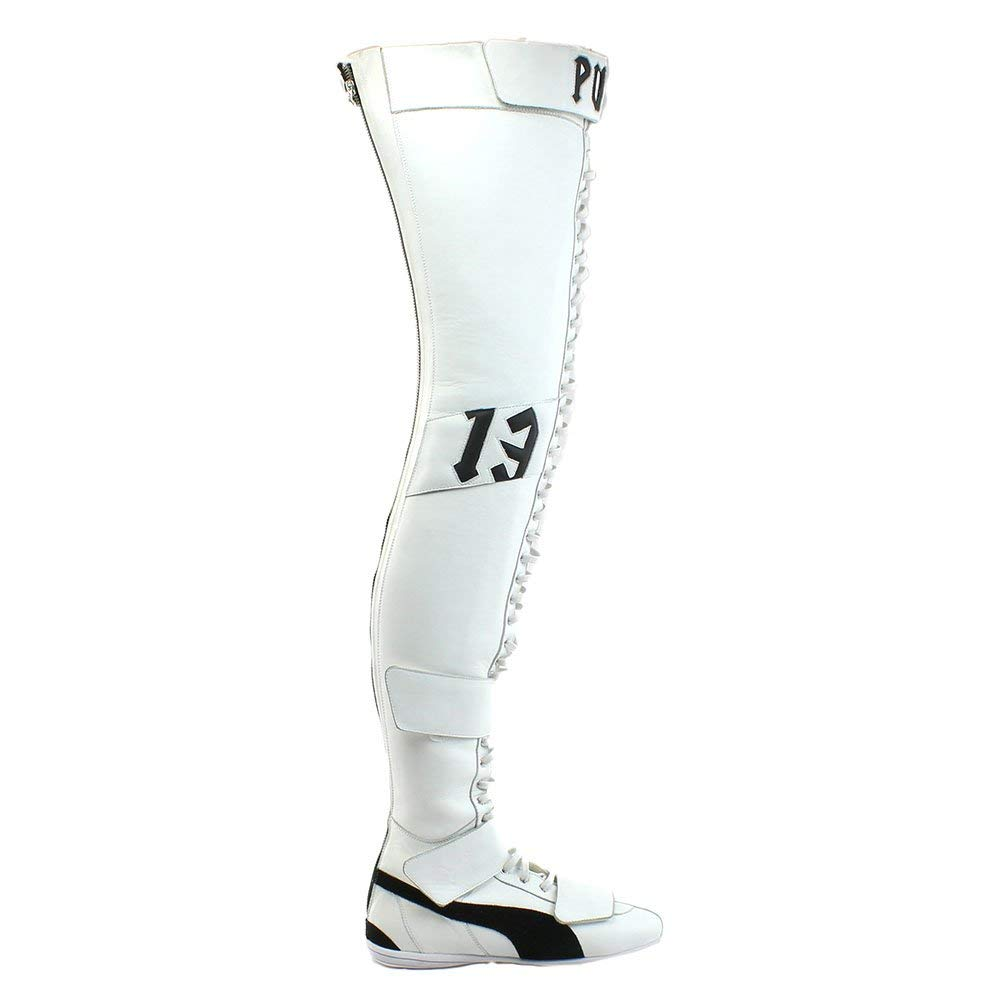 7fce4b66f Amazon.com   PUMA x Fenty by Rihanna Women E Over The Knee Boot (White)    Over-the-Knee
