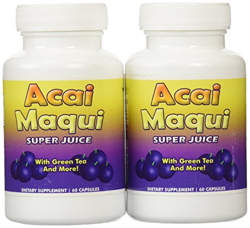 Eden étang Acai Maqui Weight Loss Pills, comte 2
