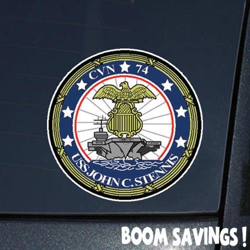 """US Navy Aircraft Carrier USS John C. stennis (cvn 74) 6"""" Decal Sticker"""