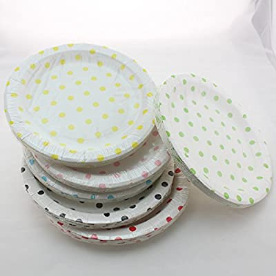100% Biodegradable Swirly Twirly Paper Plates