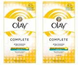 Olay Complete Lotion All Day Moisturizer with SPF 15 for Sensitive Skin, 6.0 fl oz (Pack of 2)