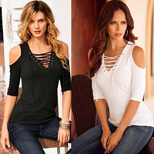 Fortan - Camisas - para mujer Weiß