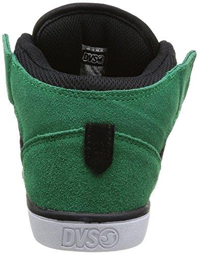 ELAN(エラン) Torey - Zapatillas de tenis Niños Vert (Black Green Suede)